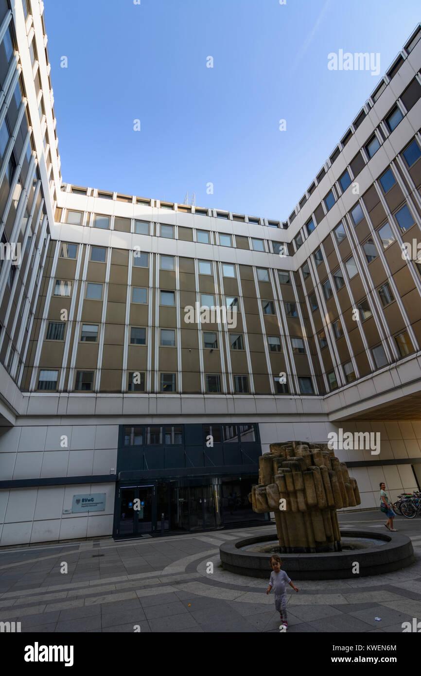 Wien, Vienna: Bundesverwaltungsgericht (Supreme Administrative Court), 03. Landstraße, Wien, Austria - Stock Image