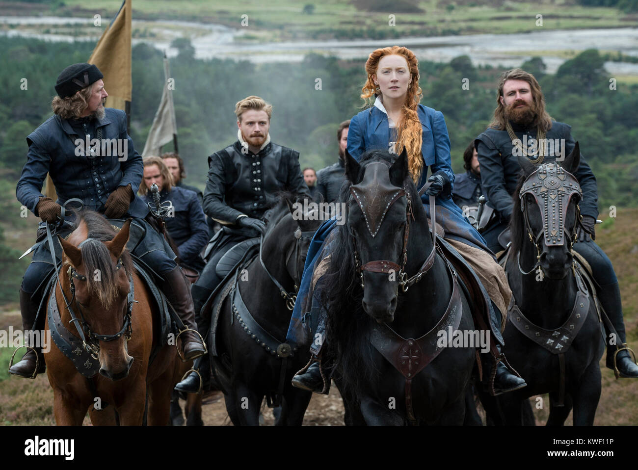 RELEASE DATE: November 2, 2018 TITLE: Mary Queen Of Scots STUDIO: Focus Features DIRECTOR: Josie Rourke PLOT: Mary Stock Photo