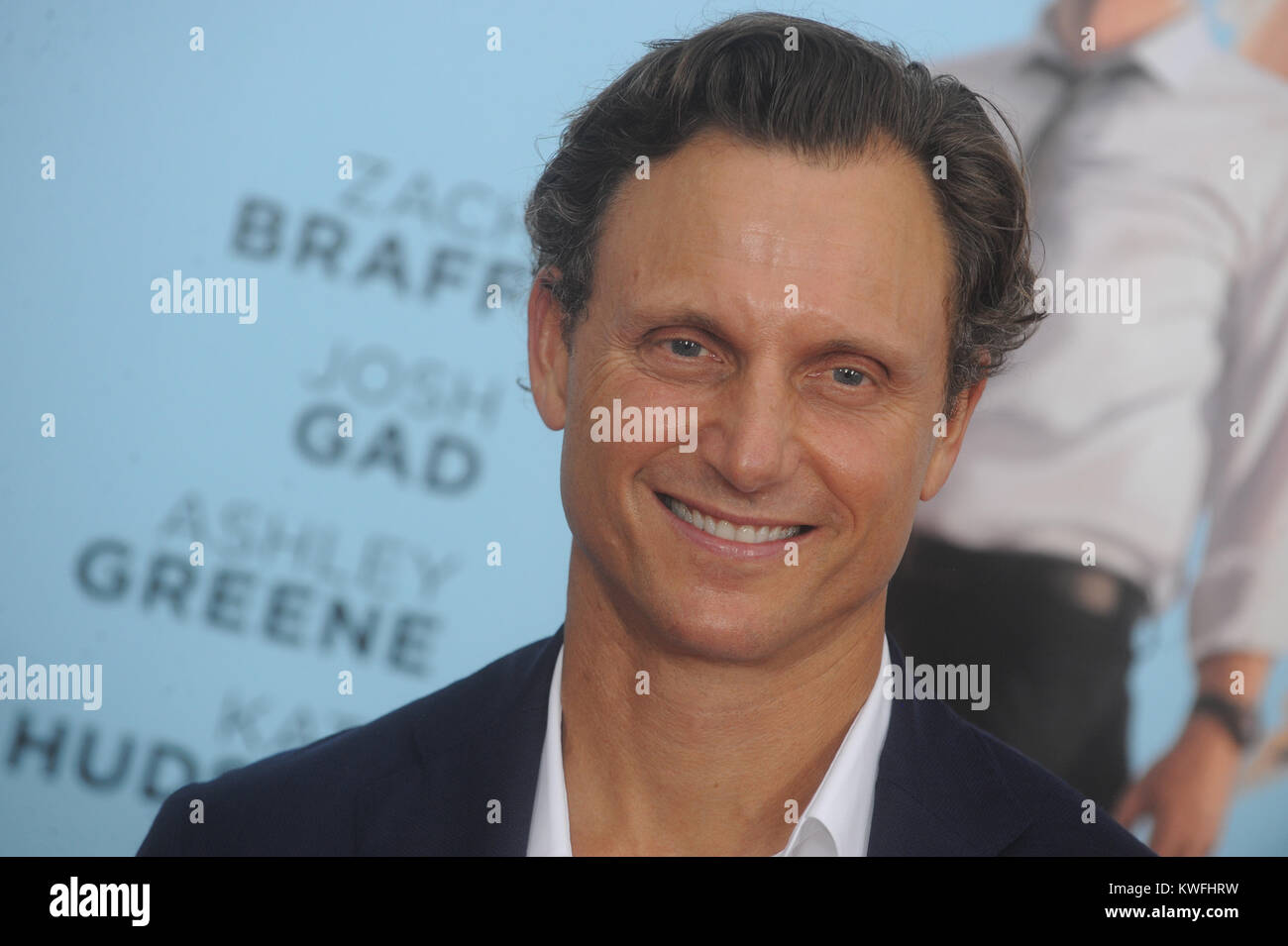 NEW YORK, NY - JULY 14: Tony Goldwyn attends the 'Wish I Was Here' screening at AMC Lincoln Square Theater - Stock Image