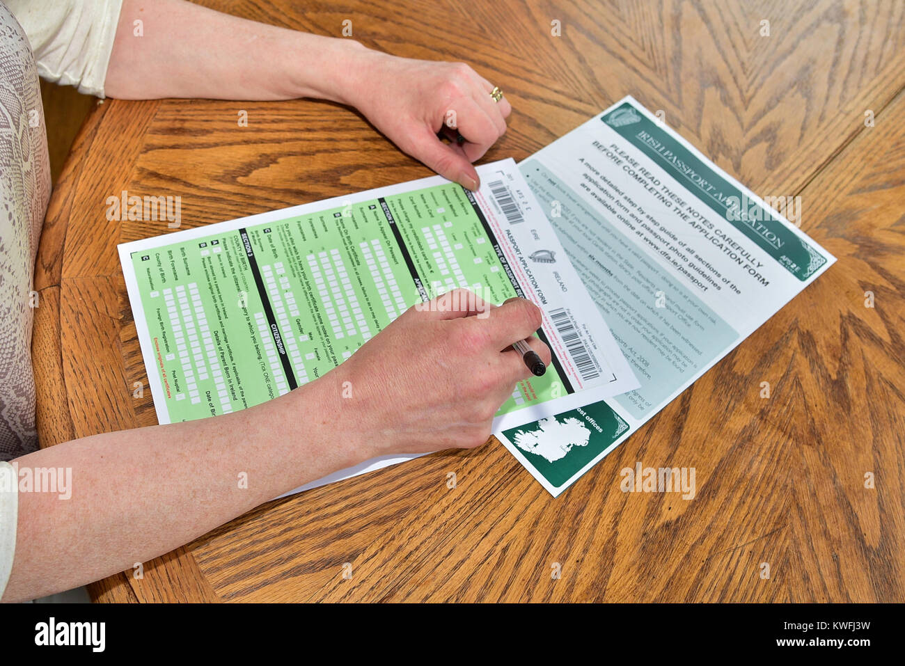Irish passport stock photos irish passport stock images alamy surge in irish passport applications uk 2nd january 2017 credit mark winter falaconquin