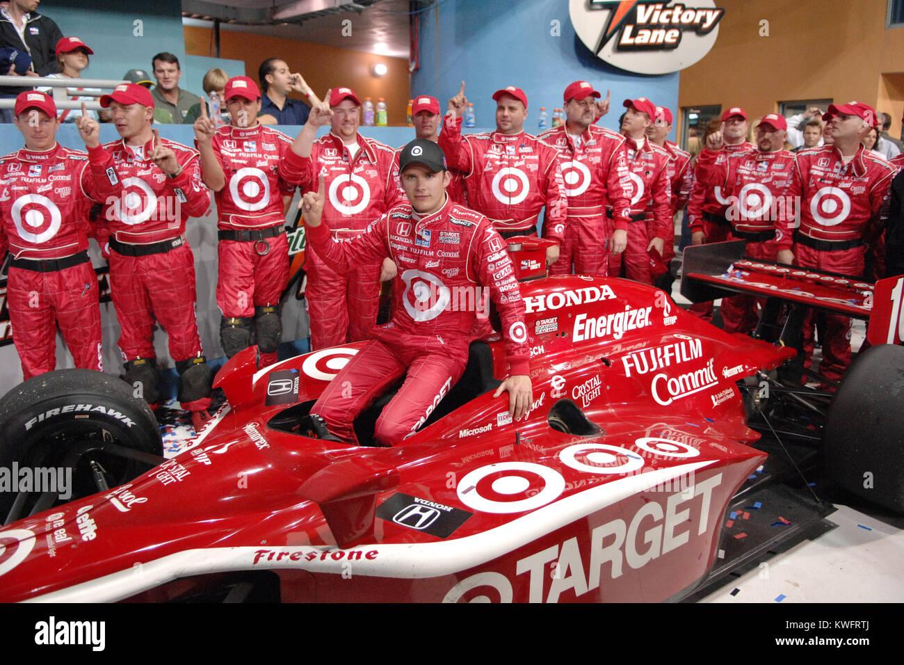 LAS VEGAS, NV - OCTOBER 16: Indianapolis 500 winner Dan Wheldon died