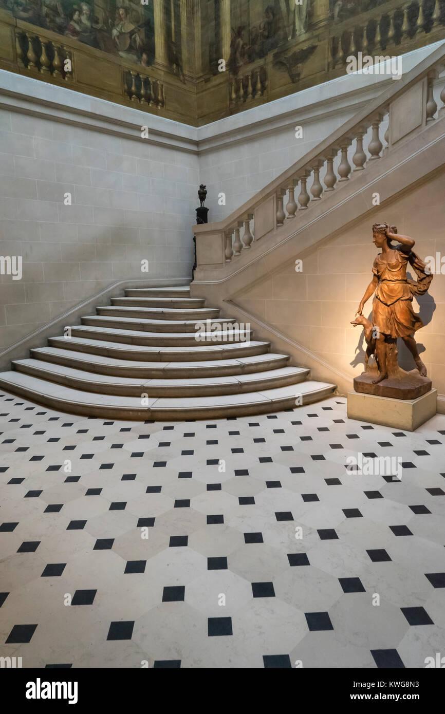 France, Paris (75), Museum de Carnavalet, Museum of the city of Paris - Stock Image