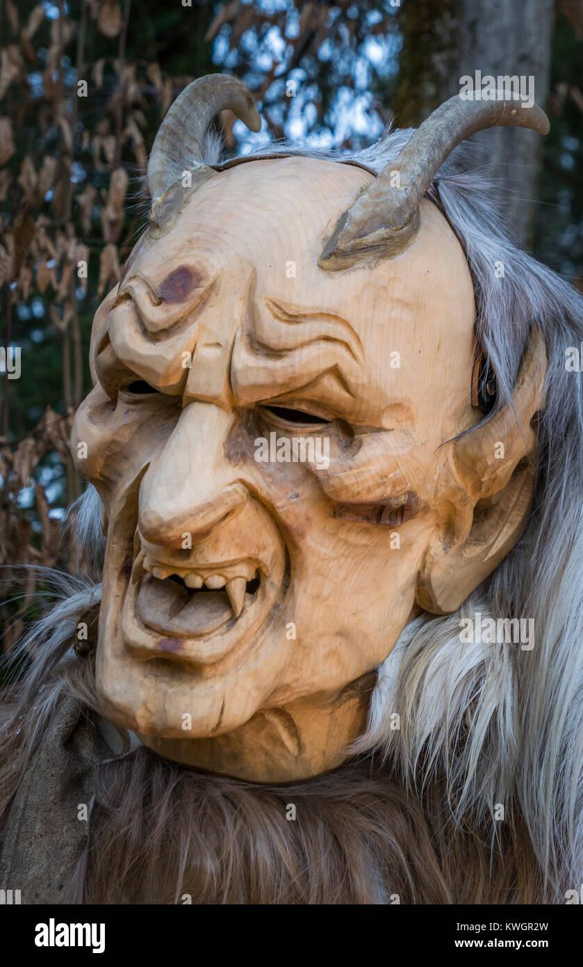 Krampus Mask Stock Photos Krampus Mask Stock Images Alamy