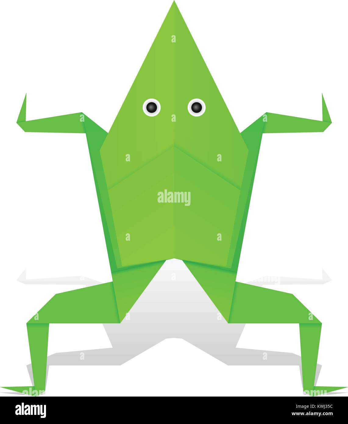 Origami Frog Face Instructions   Free Printable Papercraft Templates   1390x1142