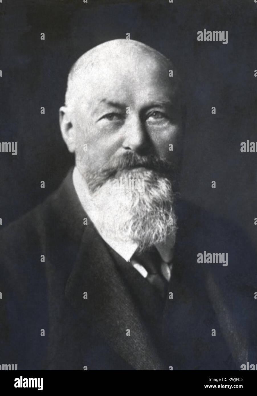 Josef Nagele (1860-1926) - Stock Image