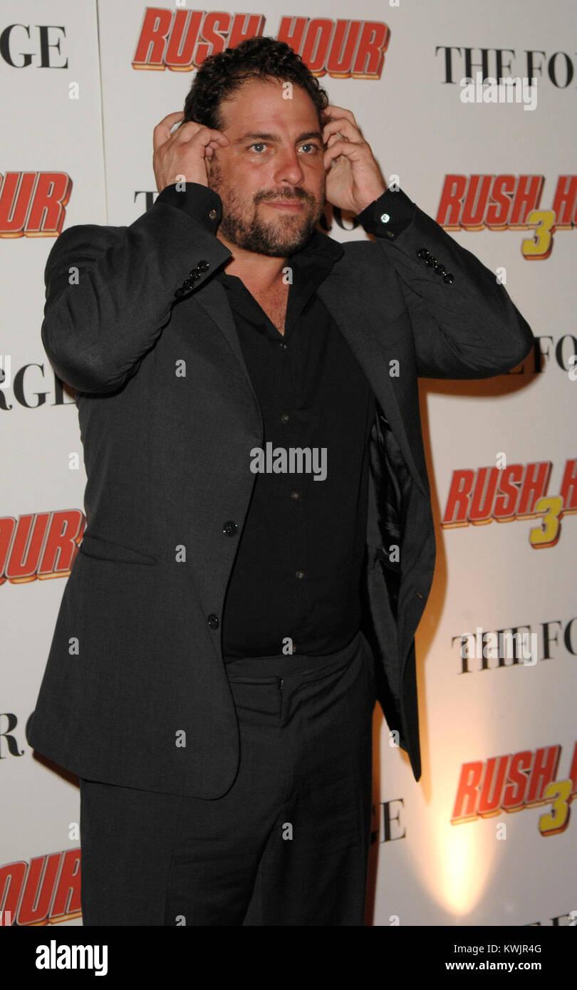 NEW YORK, NY - NOVEMBER 09: Director Brett Ratner claims he's officially 'resigned' as producer of the - Stock Image