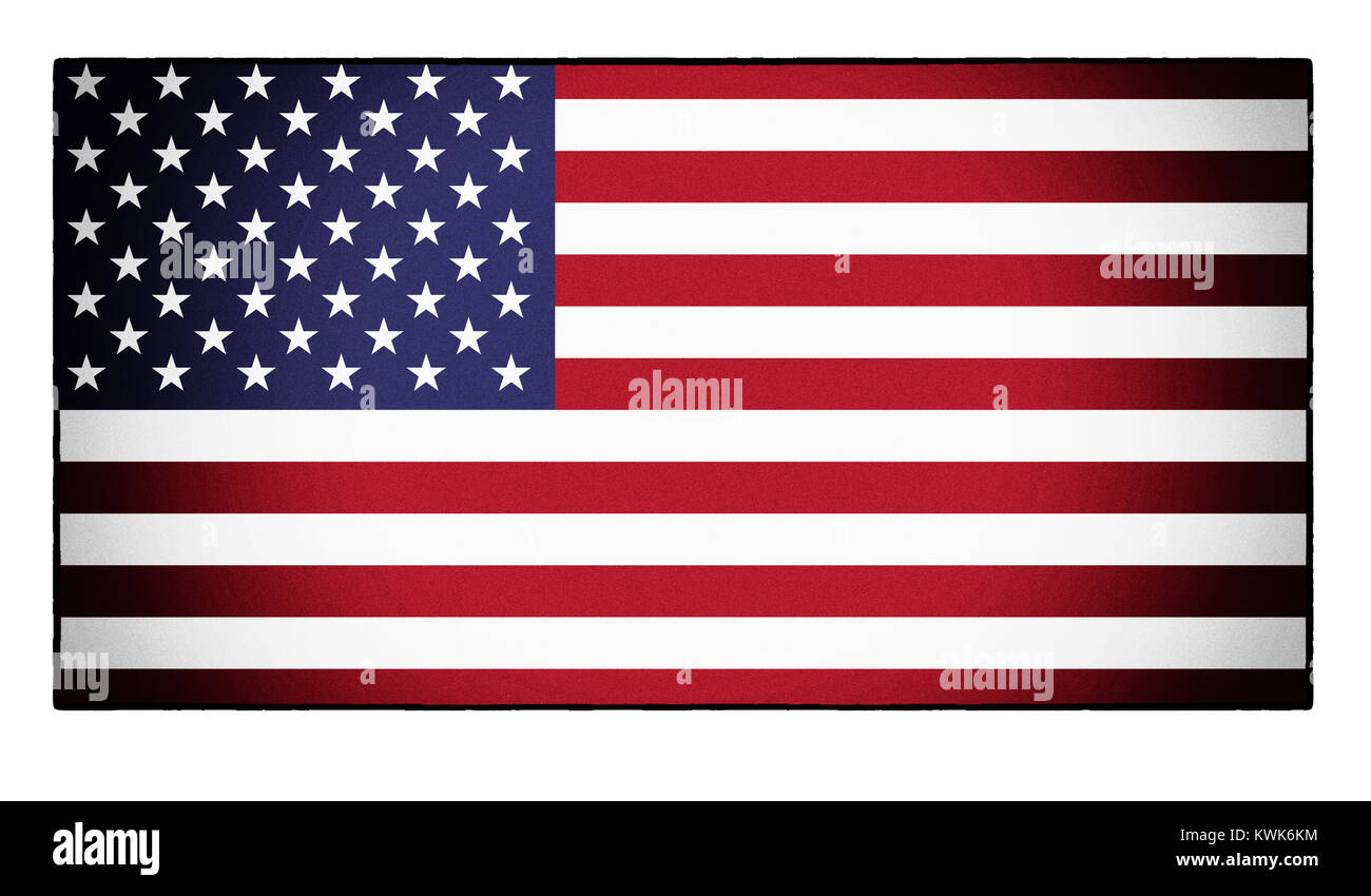 The American flag, the stars and stripes - Stock Image