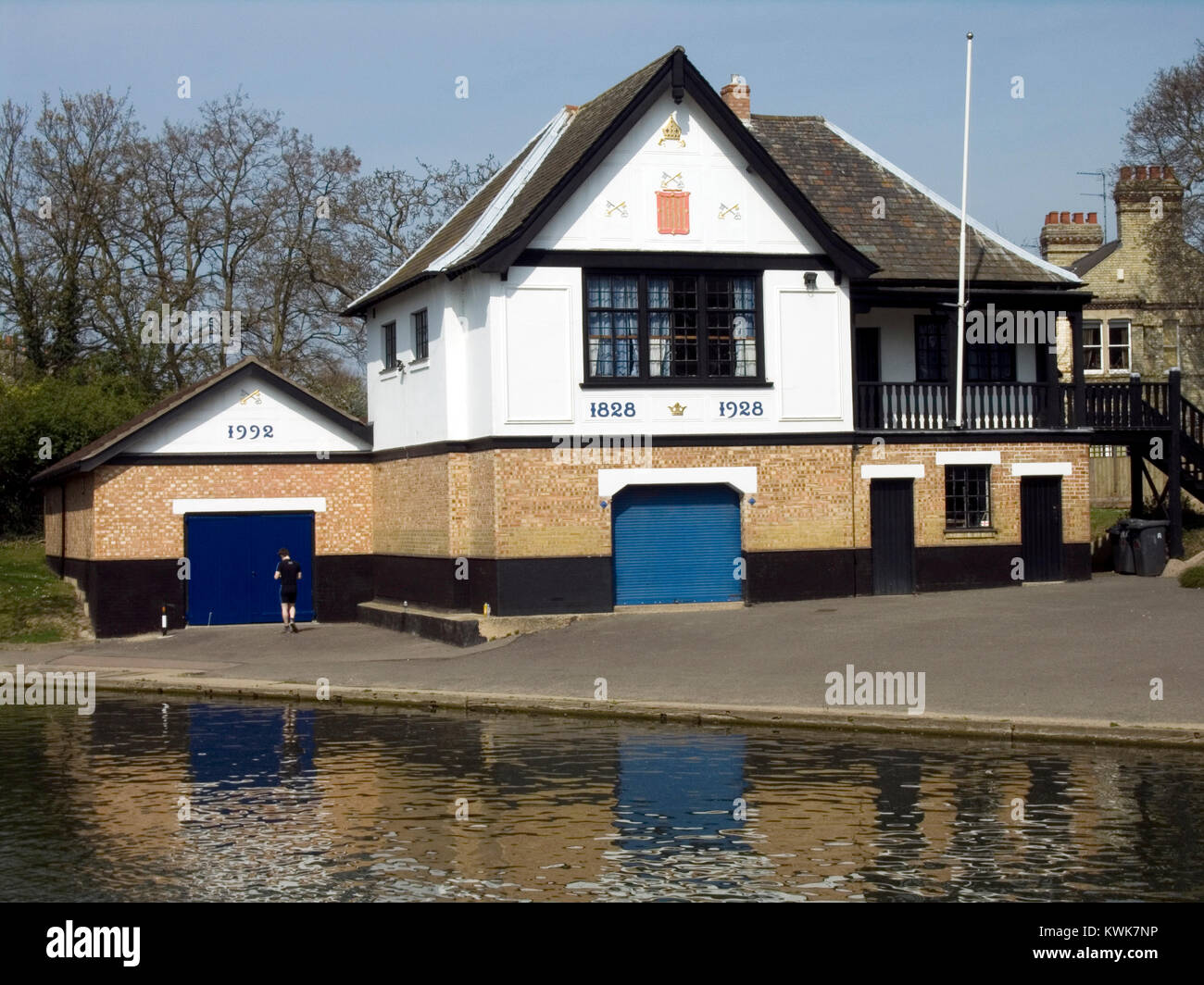 Peterhouse College Boathouse - Stock Image