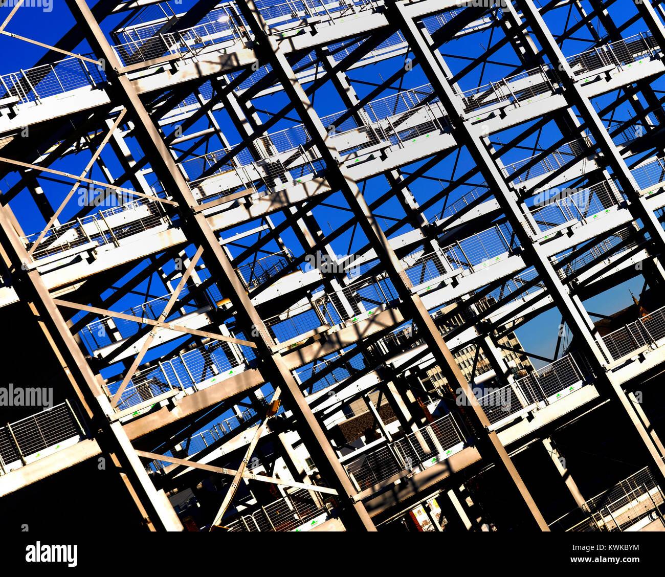 steelwork - Stock Image