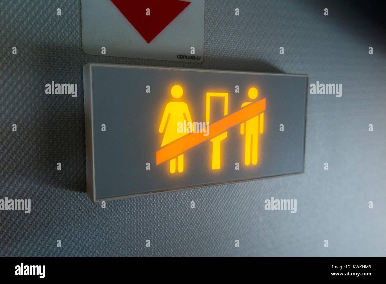 Aircraft Toilet Stock Photos Amp Aircraft Toilet Stock