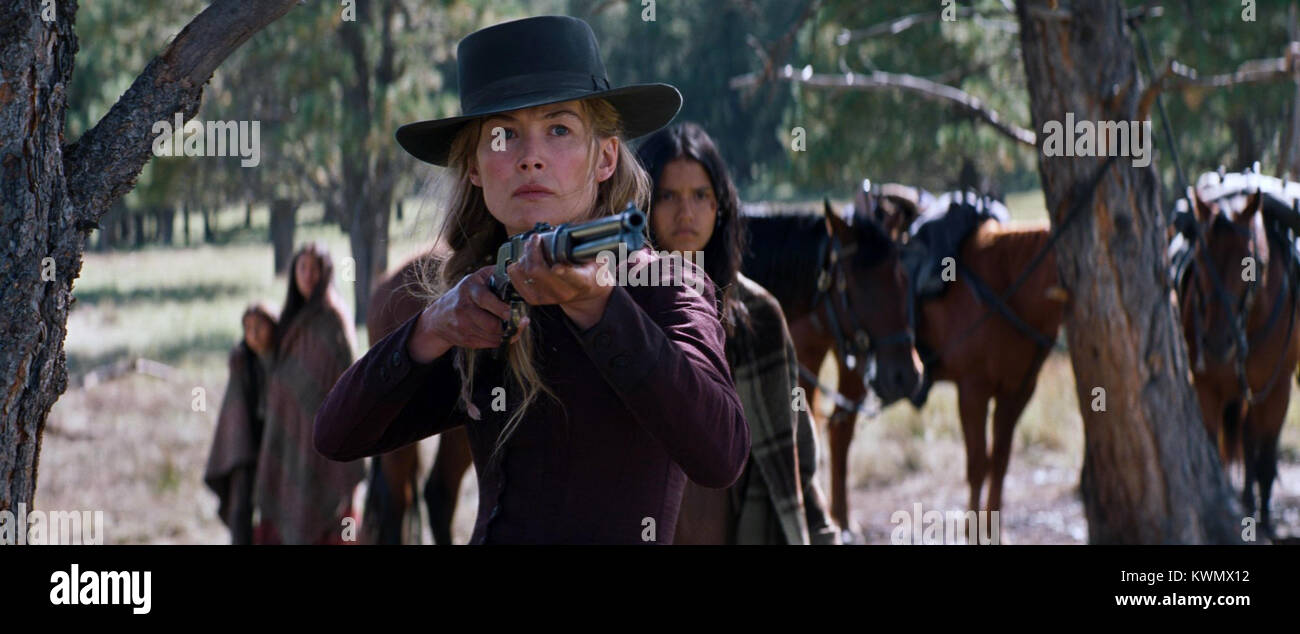 Hostiles is a 2017 American period western film written and directed by Scott Cooper, based on an original story - Stock Image