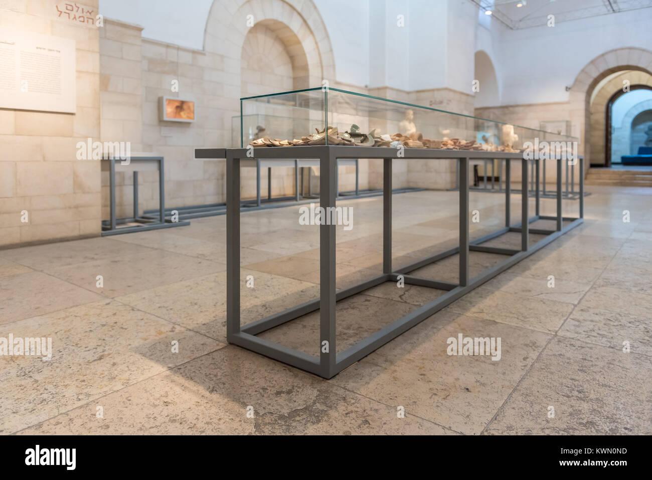 Israel, Jerusalem - 28 december 2017: Rockefeller Museum, formerly the Palestine Archaeological Museum in East Jerusalem Stock Photo