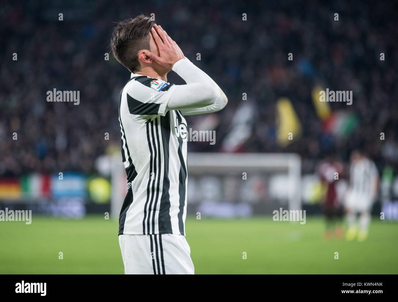 62fea9ef0e Paulo Dybala (Juventus FC) during the Tim Cup football match Juventus FC vs  Torino FC. Juventus won 3-0 in Turin