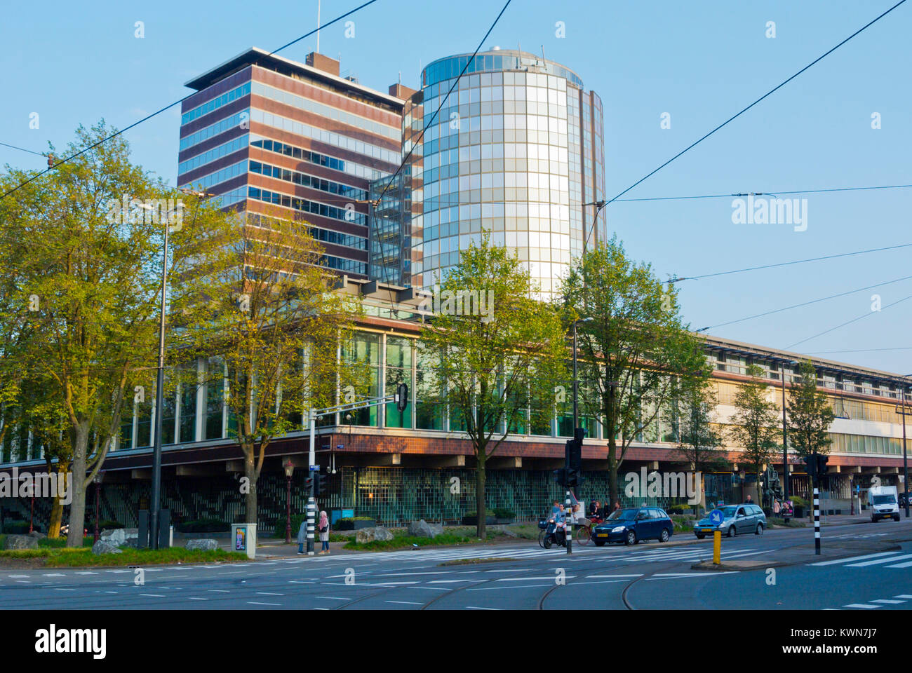 DNB, Dutch central bank, Westeinde, Amsterdam, The Netherlands - Stock Image