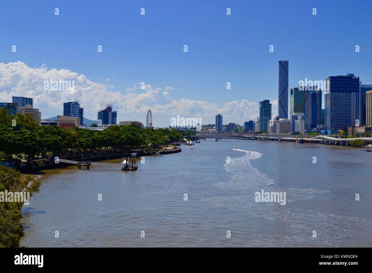 Brisbane River, Brisbane, Australia - Stock Image