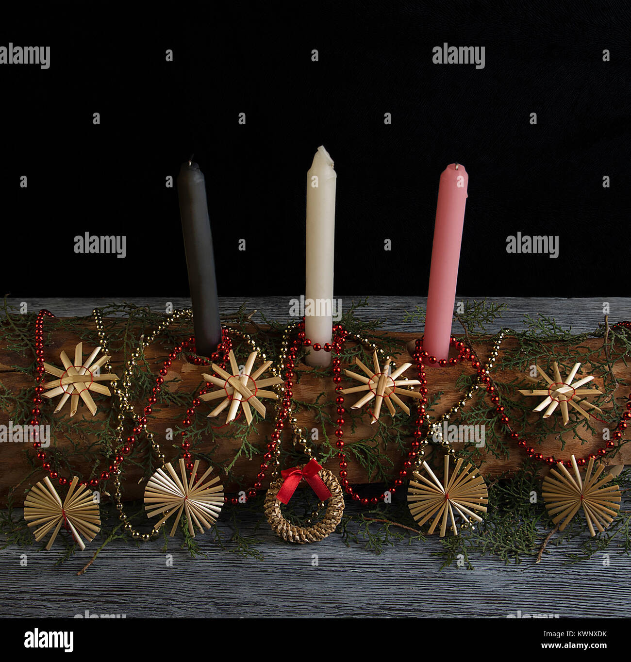 Yule celebration - Stock Image