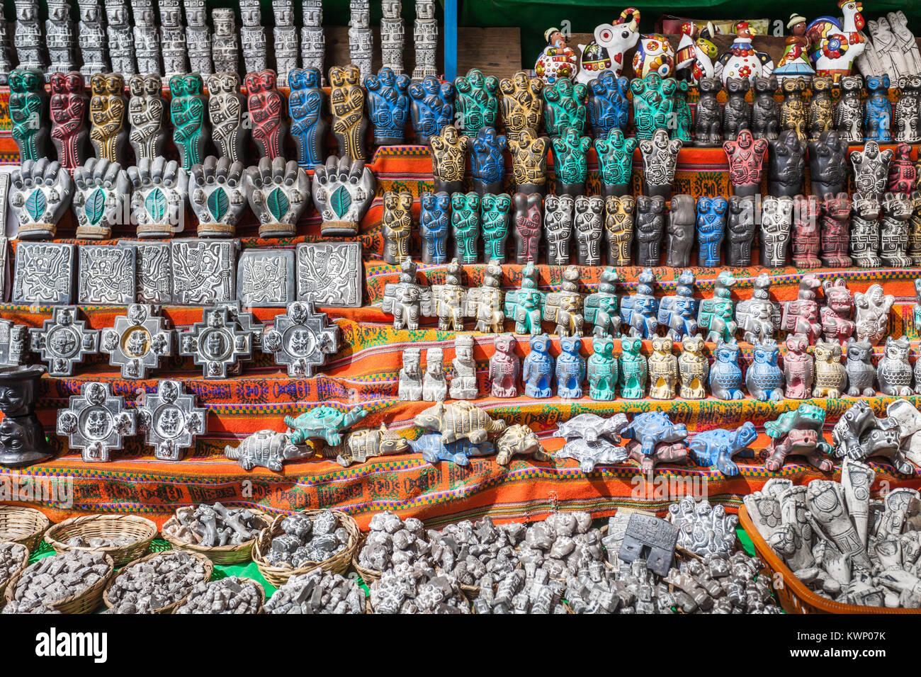 68b8b08e7948 Souvenirs La Paz Bolivia Stock Photos   Souvenirs La Paz Bolivia ...