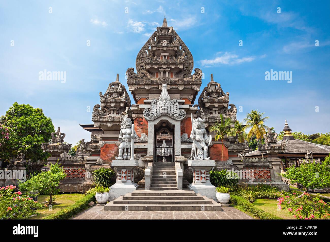 The Balinese style Indonesia Museum, Jakarta - Stock Image