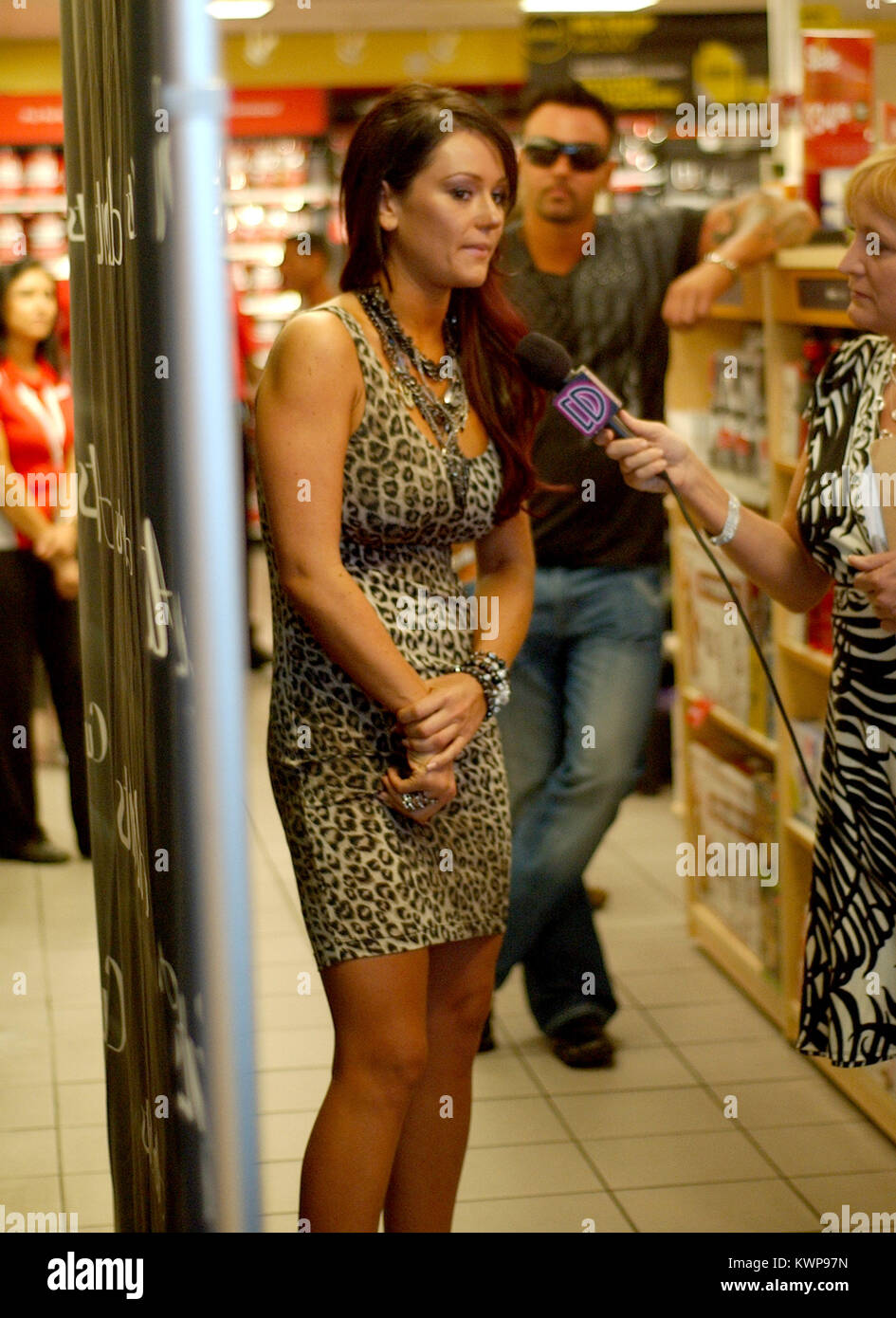 Miami Beach Fl March 21 Jenni Jwoww Farley Meets And Greets