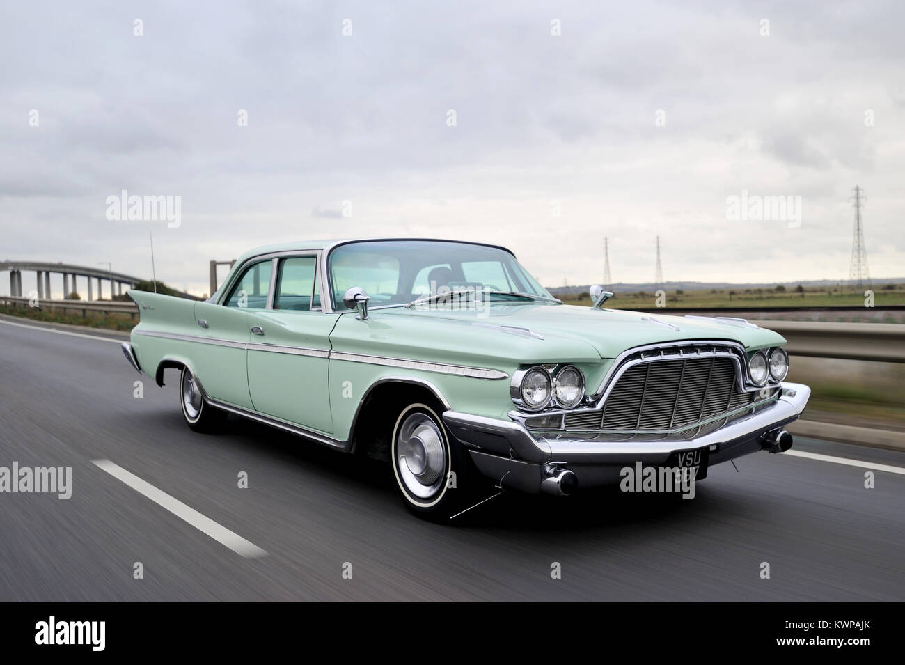 1958 DeSoto Adventurer classic American car - Stock Image