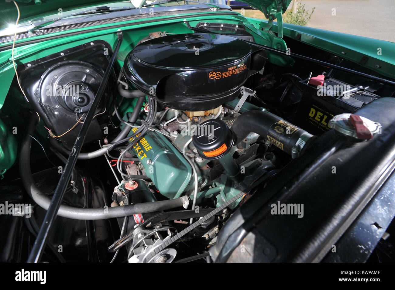 Rocket Engine Car Stock Photos Images Alamy 1992 Oldsmobile 88 Picture Of 1954 Convertible Classic American Image