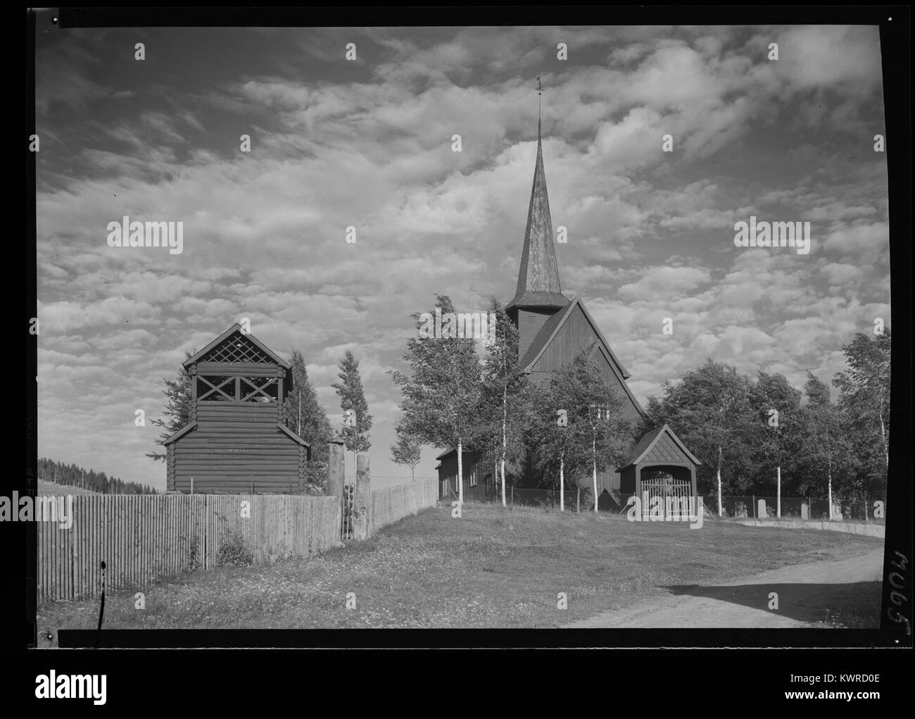 Øystre Slidre - no-nb digifoto 20160303 00032 NB MIT FNR 07065 - Stock Image
