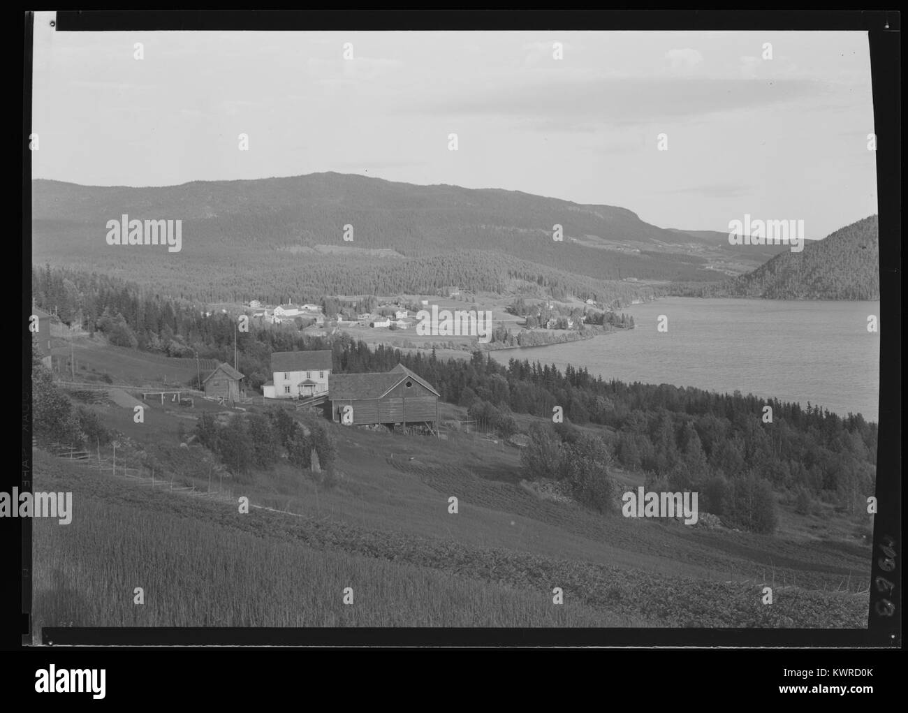 Øystre Slidre - no-nb digifoto 20160303 00039 NB MIT FNR 07063 - Stock Image