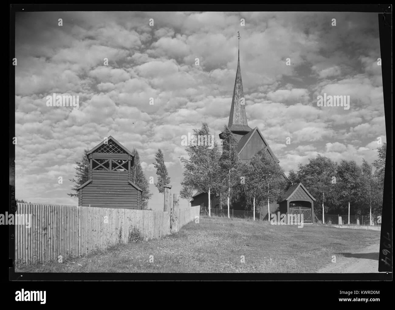 Øystre Slidre - no-nb digifoto 20160303 00052 NB MIT FNR 07064 - Stock Image