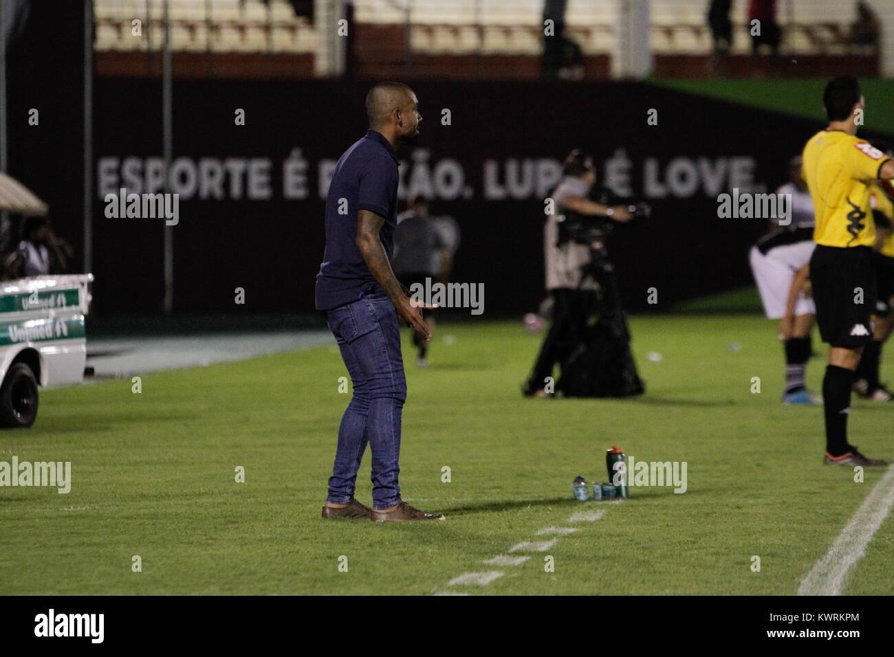 Araraquara Brazil 05th Jan 2018 Corinthians Coach Dyego Coelho During A