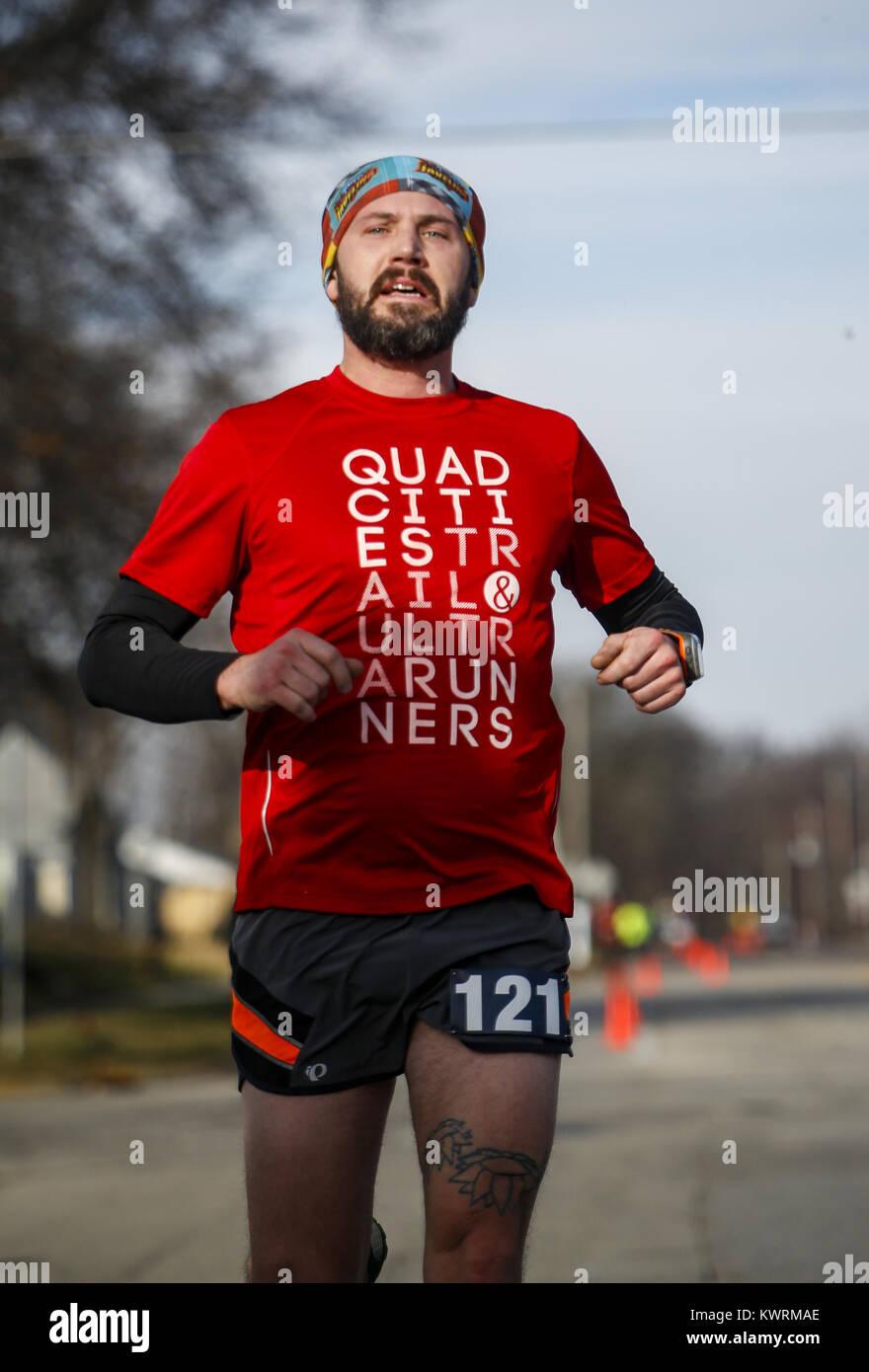 Moline, Iowa, USA  1st Jan, 2017  Steve Traman of Cleveland