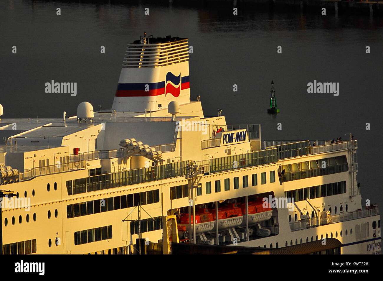 Pont-Aven Brittany Ferries at Santander Stock Photo
