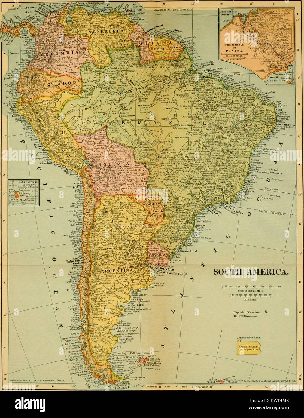 Map of south america identifying countries including bolivia brazil map of south america identifying countries including bolivia brazil and argentina 1907 courtesy internet archive gumiabroncs Image collections