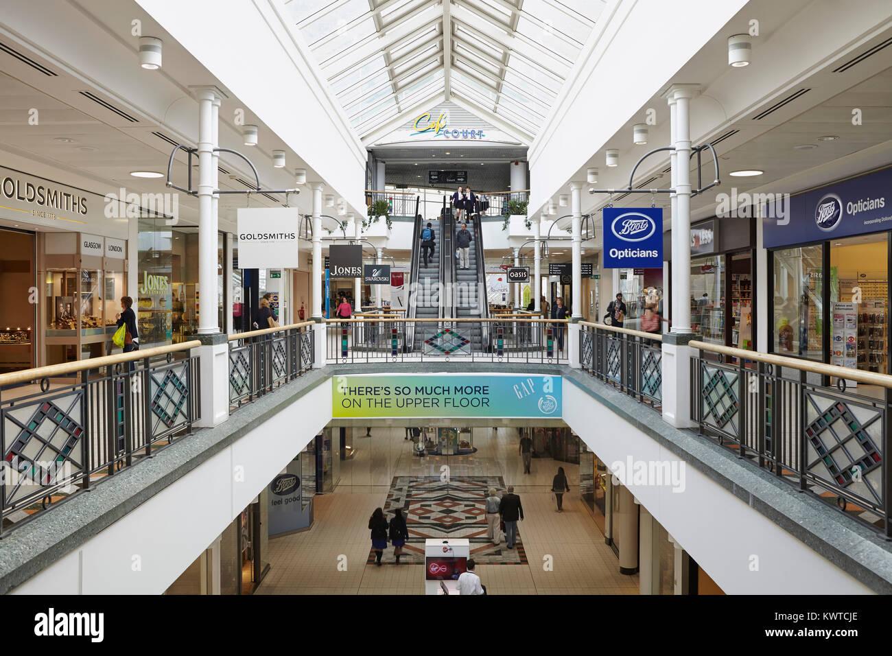 Centre Court Shopping Centre Wimbledon London, UK - Stock Image
