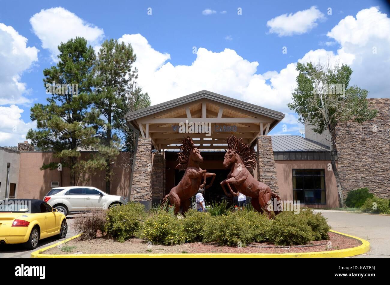 wild horse casino and hotel dulce jicarillo apache reservation new mexico - Stock Image