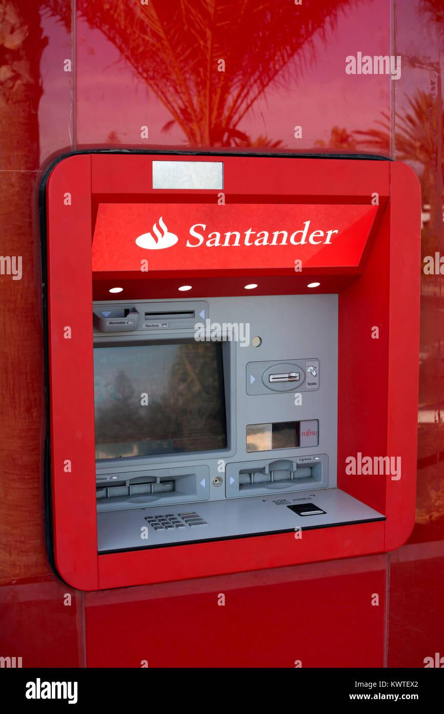 bankomat santander
