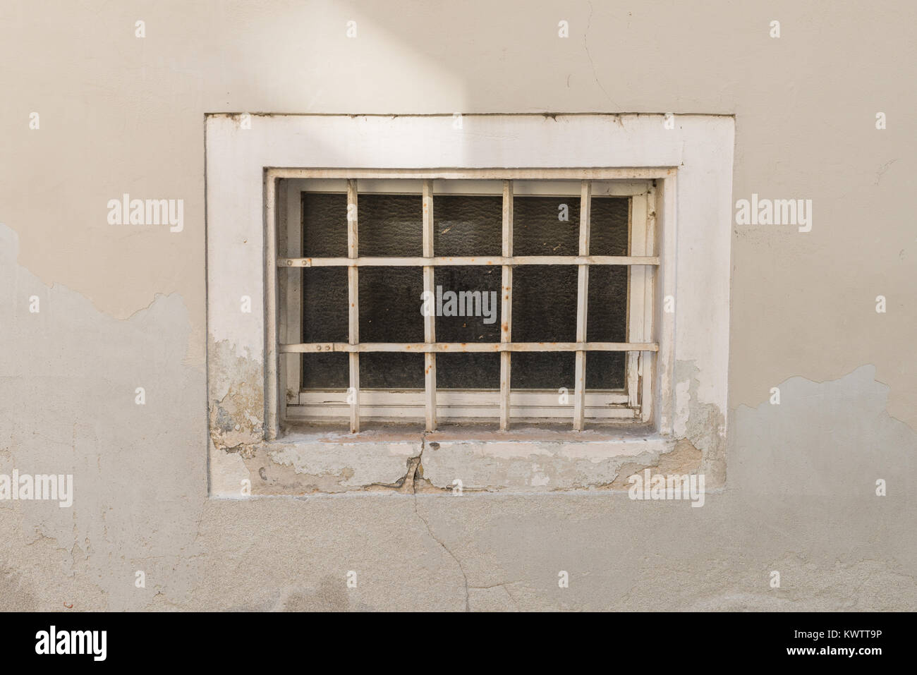 Old rusty Cellar window with iron grating - Stock Image & Cellar Window Stock Photos u0026 Cellar Window Stock Images - Alamy