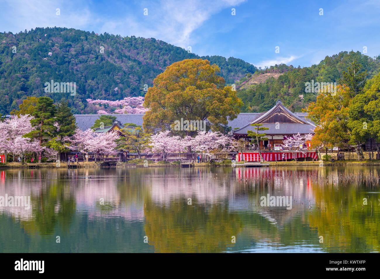 Daikaku-ji Temple at Arashiyama, Kyoto Stock Photo