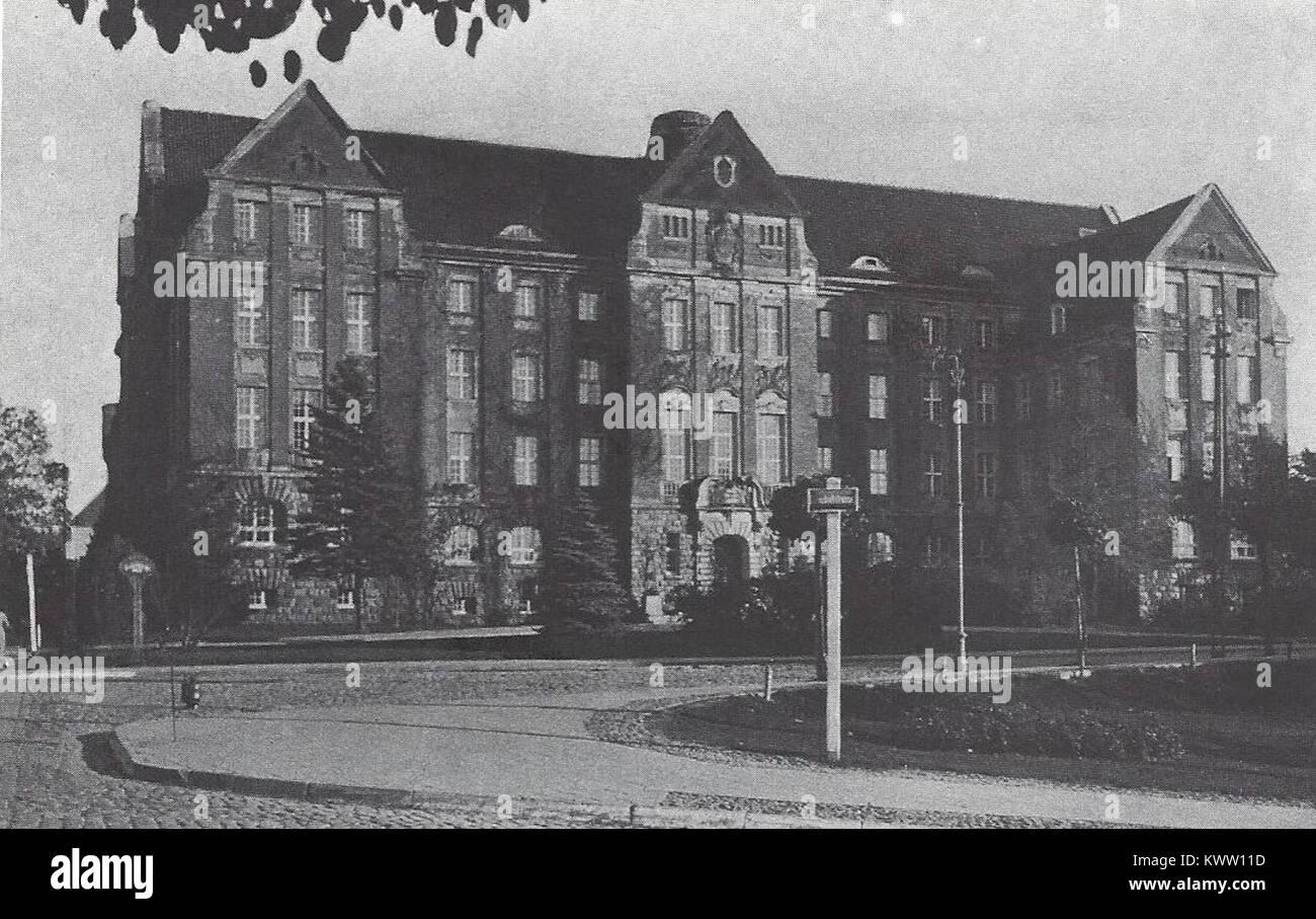 Regierungsgebäude Allenstein - Stock Image