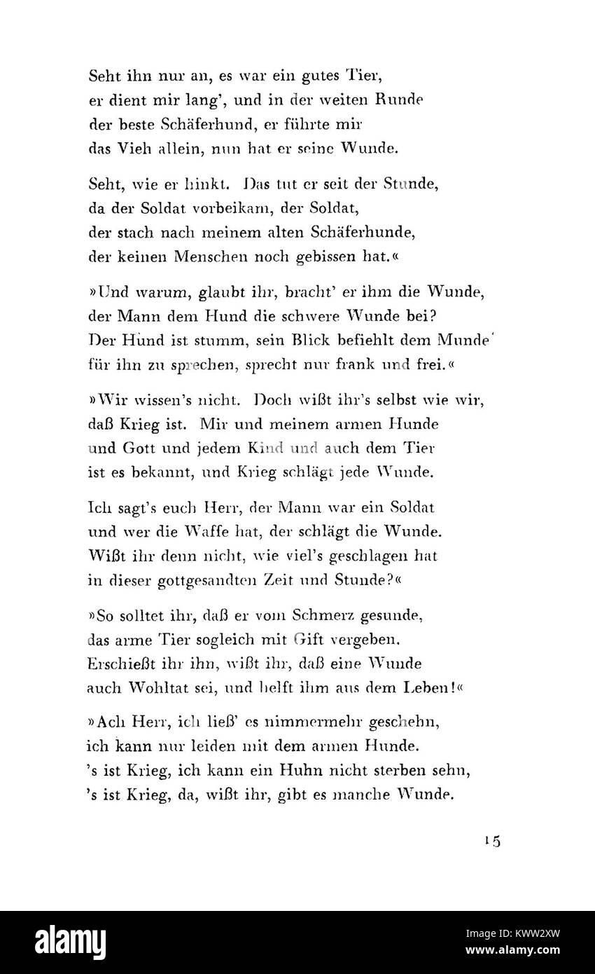 De Ausgewählte Gedichte Kraus 15 Stock Photo 170810833