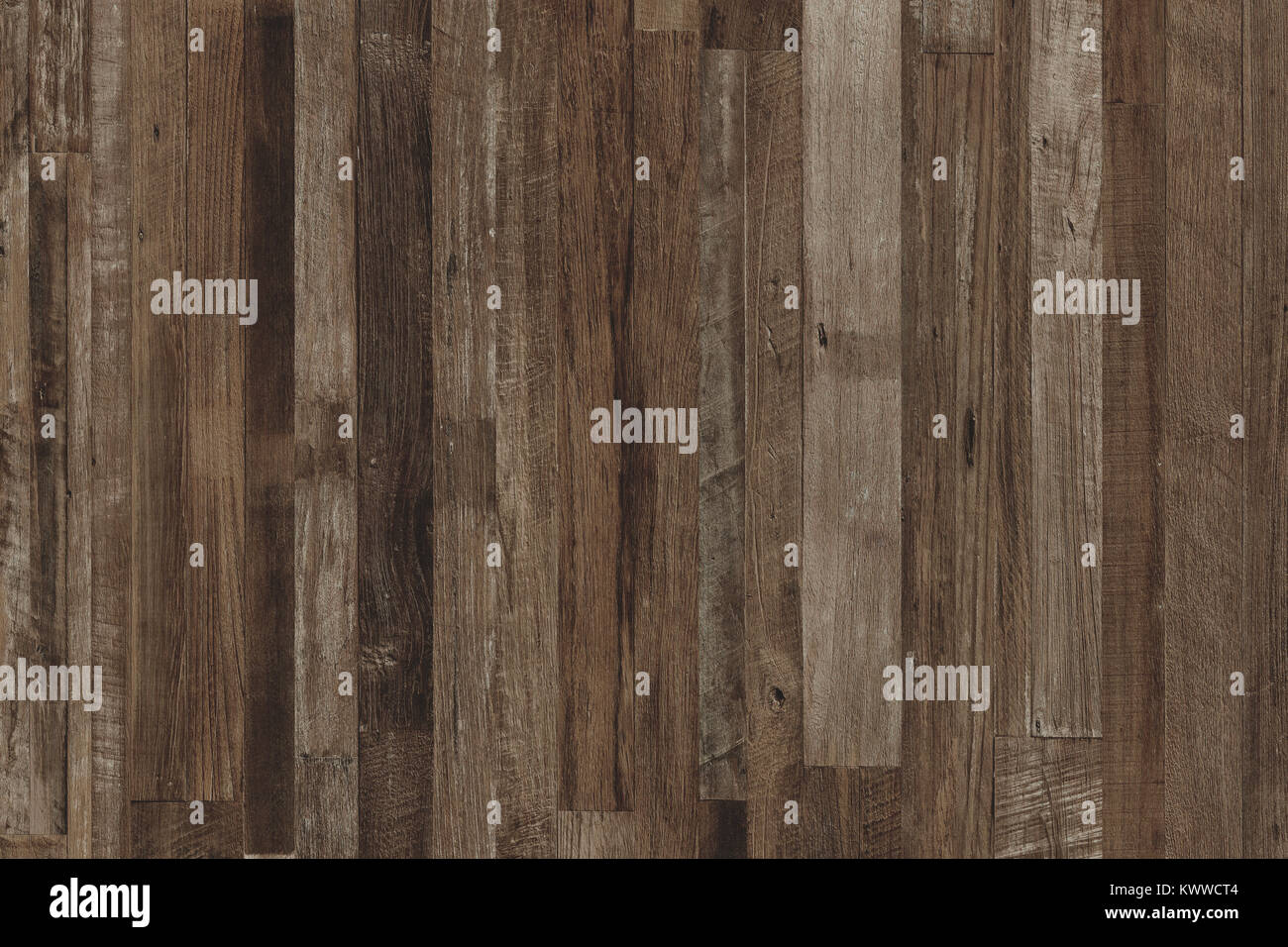 Wood wall, Mixed Species Wood flooring pattern for background texture or interior design element. - Stock Image