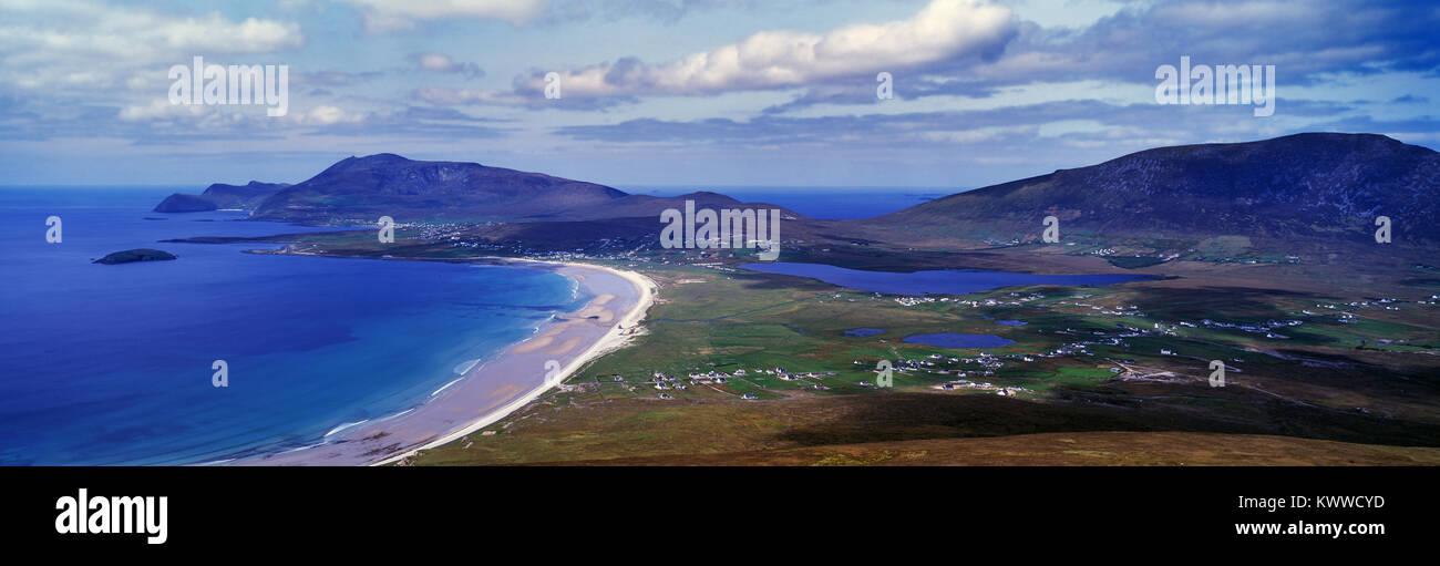 Keel Beach, Achill Island, County Mayo, Ireland. - Stock Image