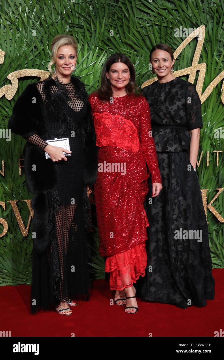 7667810f8 The British Fashion Awards held at the Royal Albert Hall - Arrivals  Featuring: Nadja Swarovski, Natalie Massenet, Caroline Rush Where: London,  ...