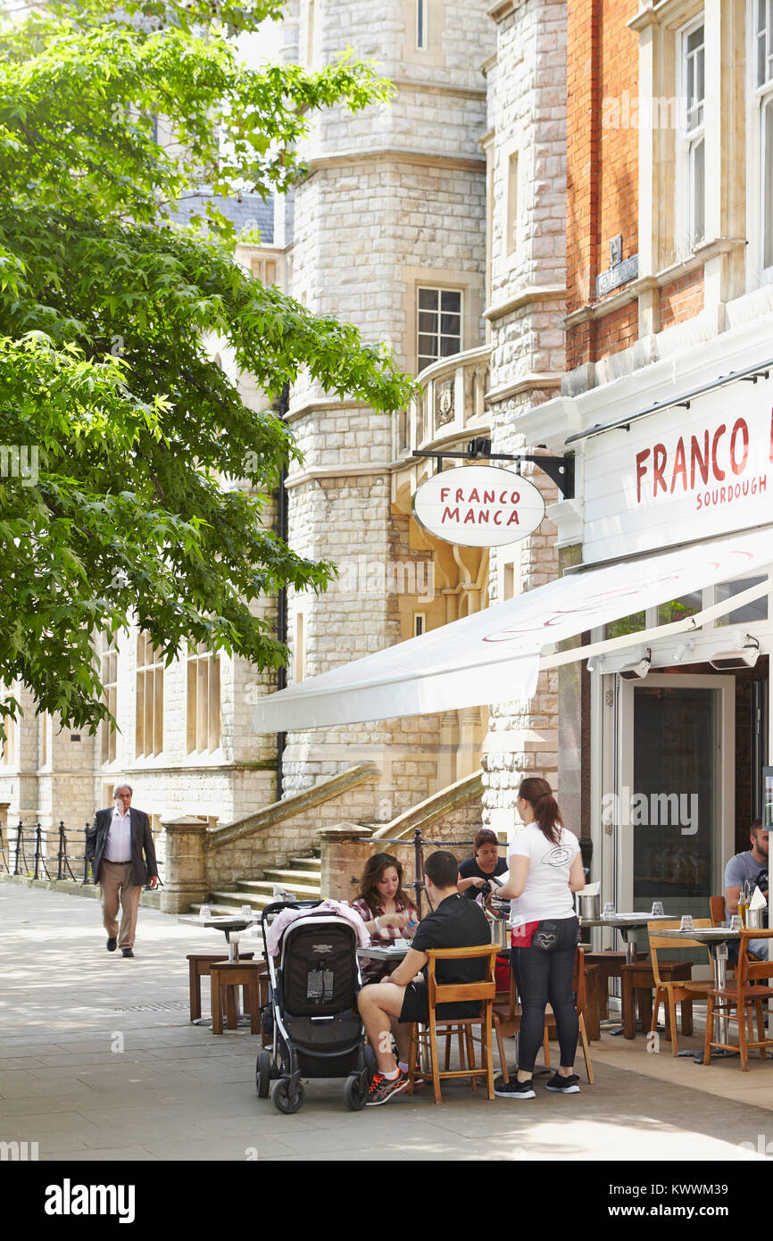 Franco Manca Restaurant, Ealing Broadway, London, UK - Stock Image