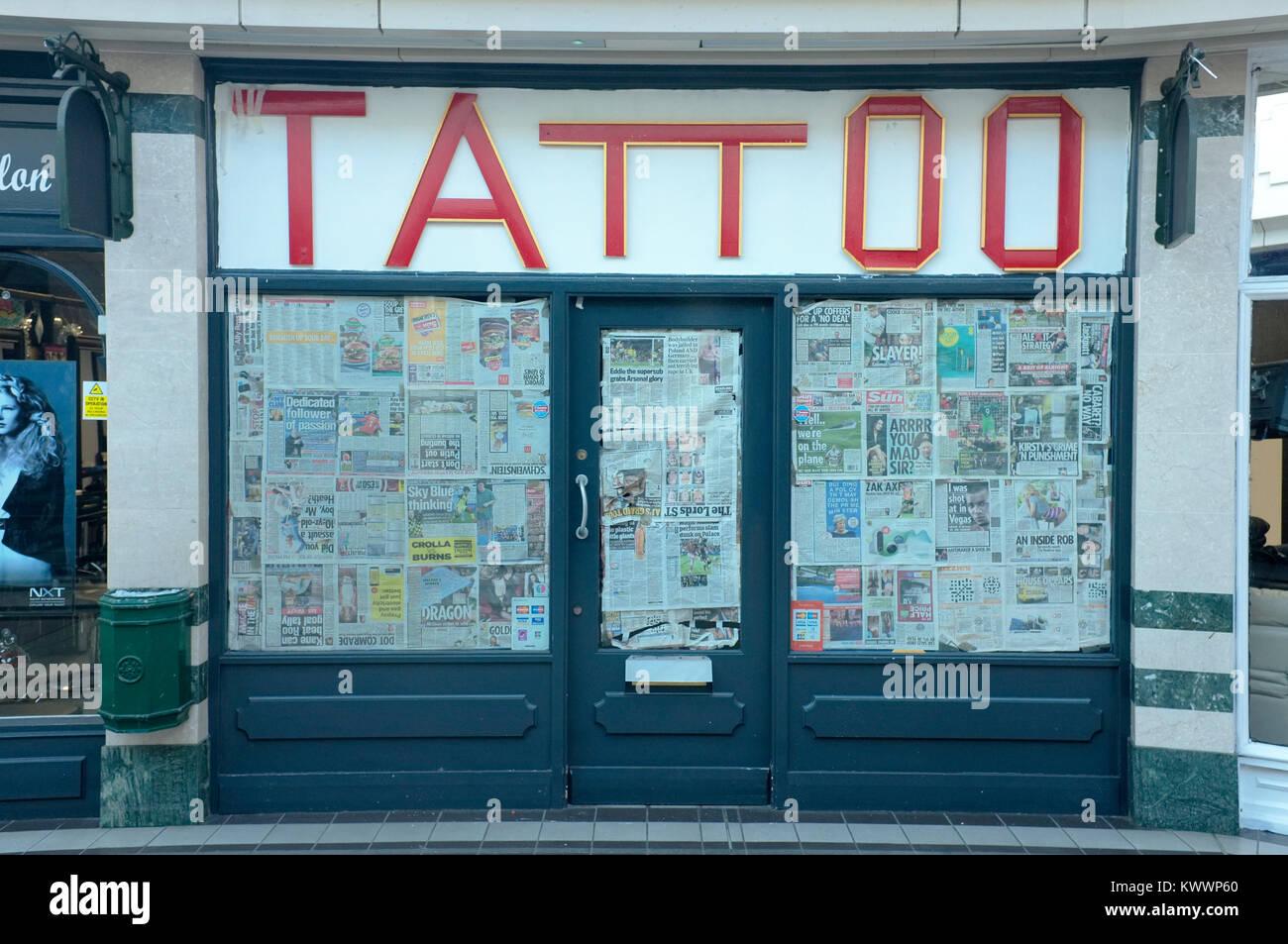 Tattoo Shop Stock Photos & Tattoo Shop Stock Images - Alamy