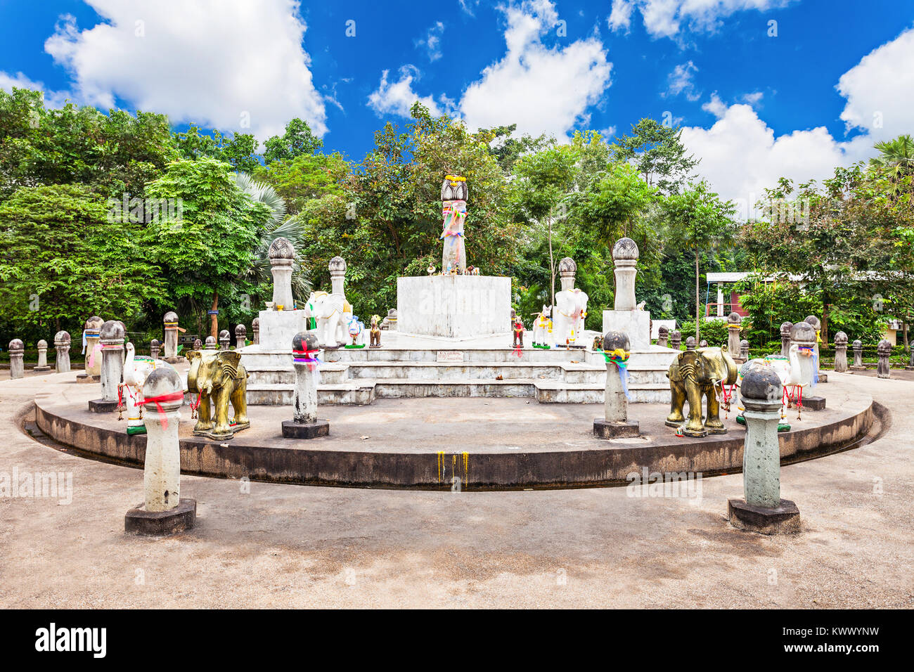 Sadu Mueang at Doi Chom Thong, Chiang Rai, northern Thailand - Stock Image