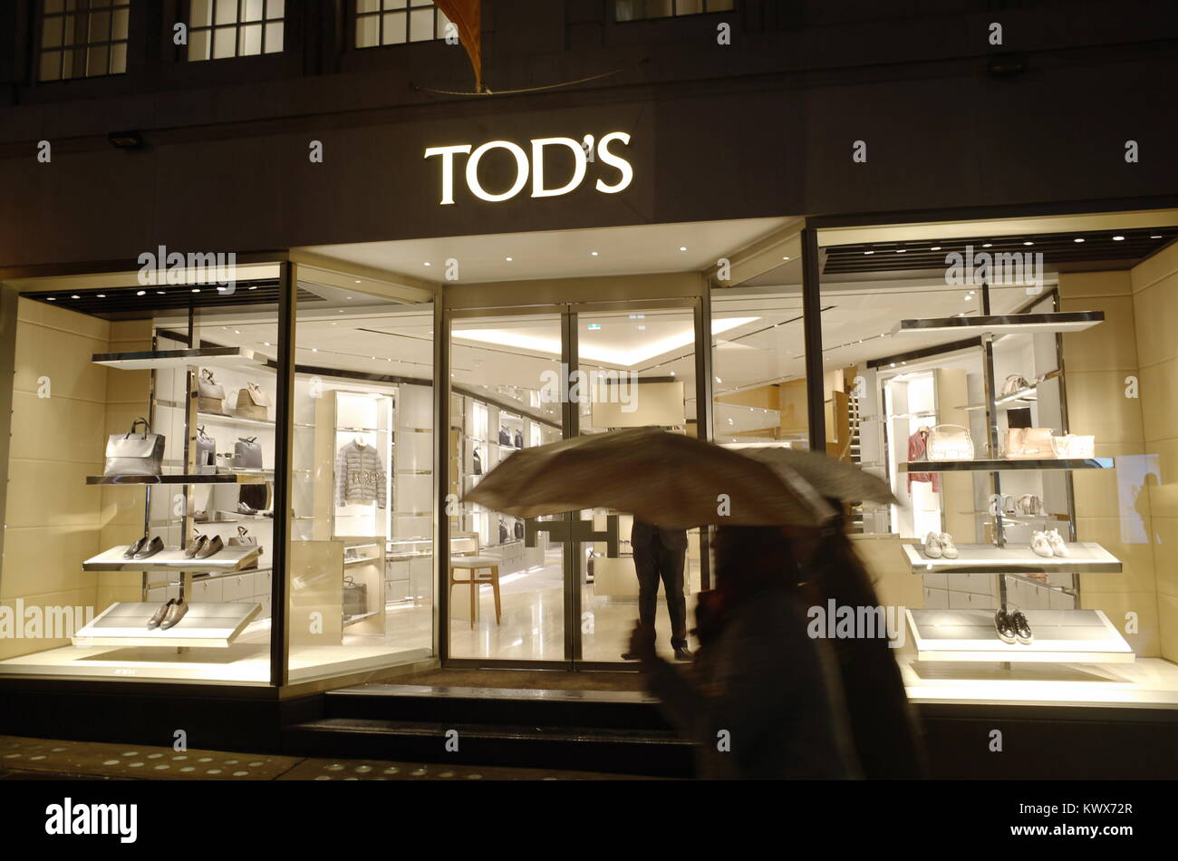 0091e99ad9 Tod's Boutique on Old Bond Street, Mayfair, London, England, UK - Stock