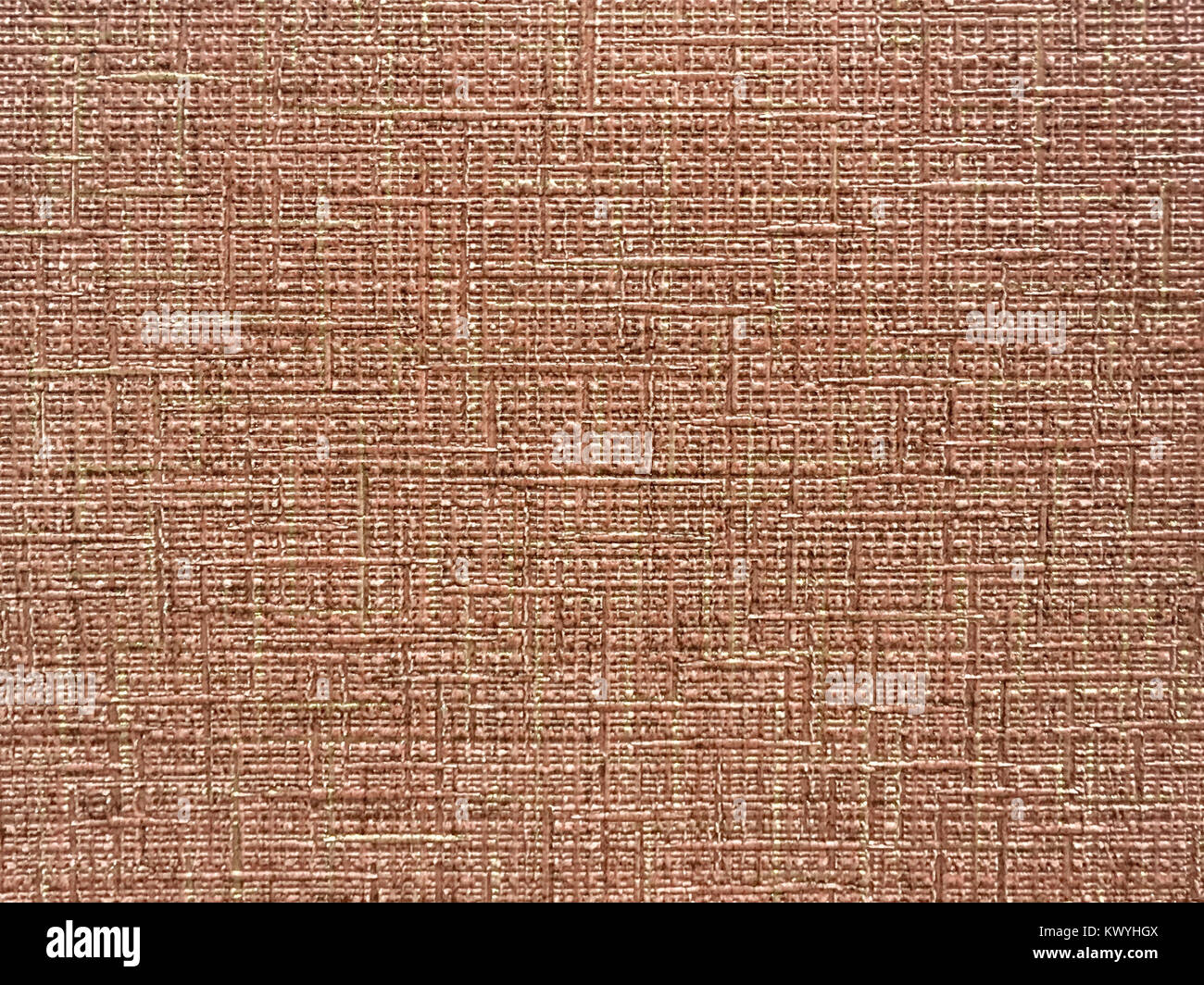 Texture Of Light Brown Wallpaper With A Stripped Pattern Paper Surface Structure Close