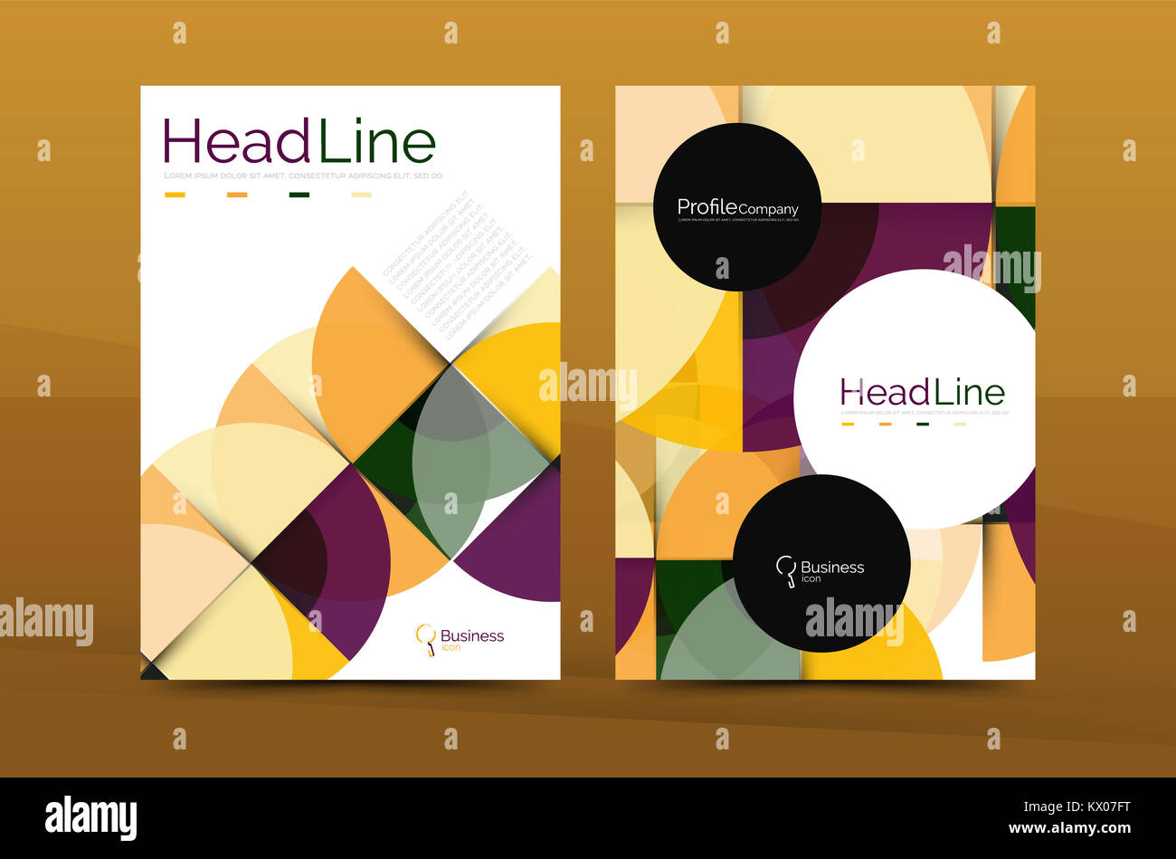 Business Company Profile Brochure Template Corporate Brochure