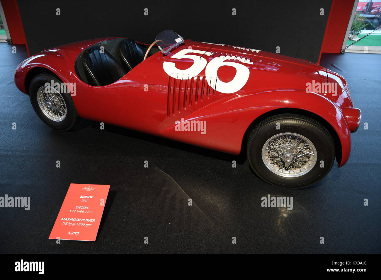 Mugello It October 2017 The First Ferrari 125 S 1947 At Paddock Stock Photo Alamy
