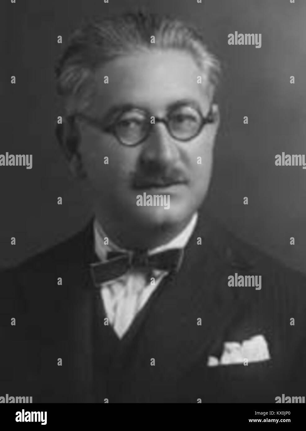 Mehmet Celâl Nuri Bey İleri Stock Photo